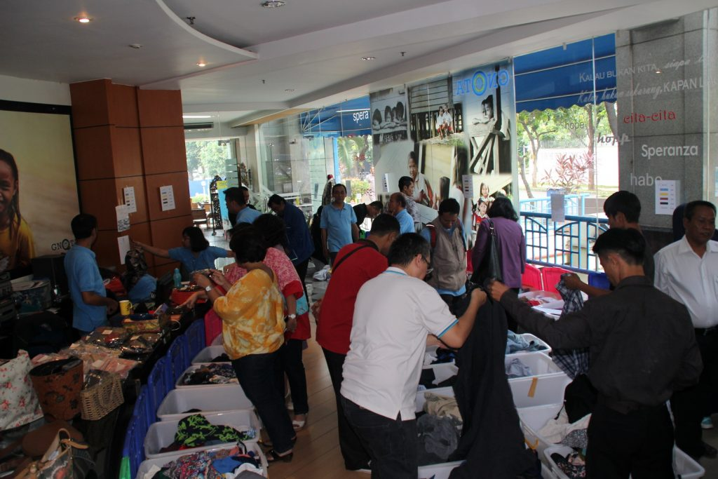 Garage Sale GNOTA Maret 2017