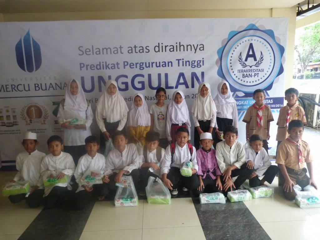 Sinambung Bantuan Civitas Akademika UMB