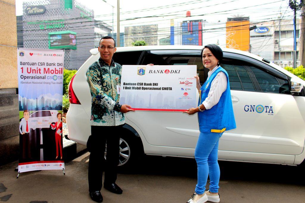 Donasi Mobil CSR Bank DKI