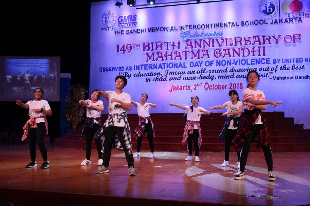149 th GMIS (The Gandhi Memorial Intercontinental School)