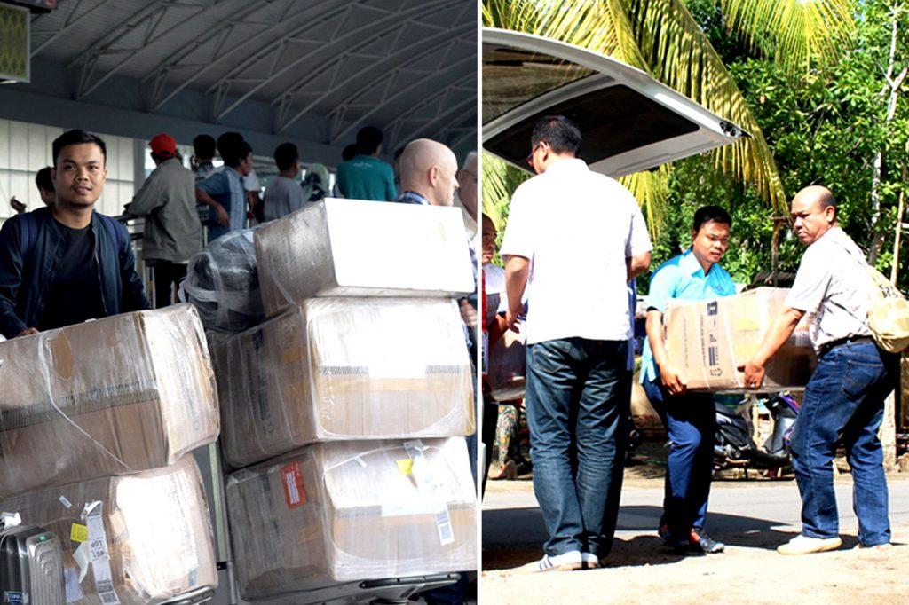 Bantuan Korban Gempa Lombok