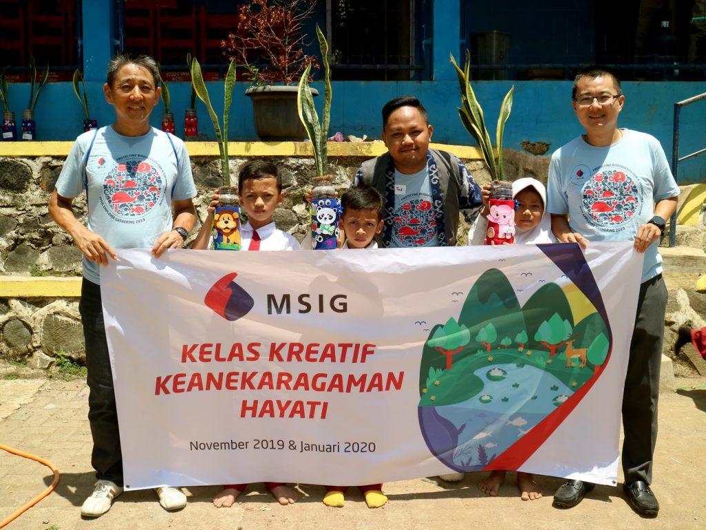 Kelas Kreatif Keragaman Hayati Oleh PT. MSIG Indonesia